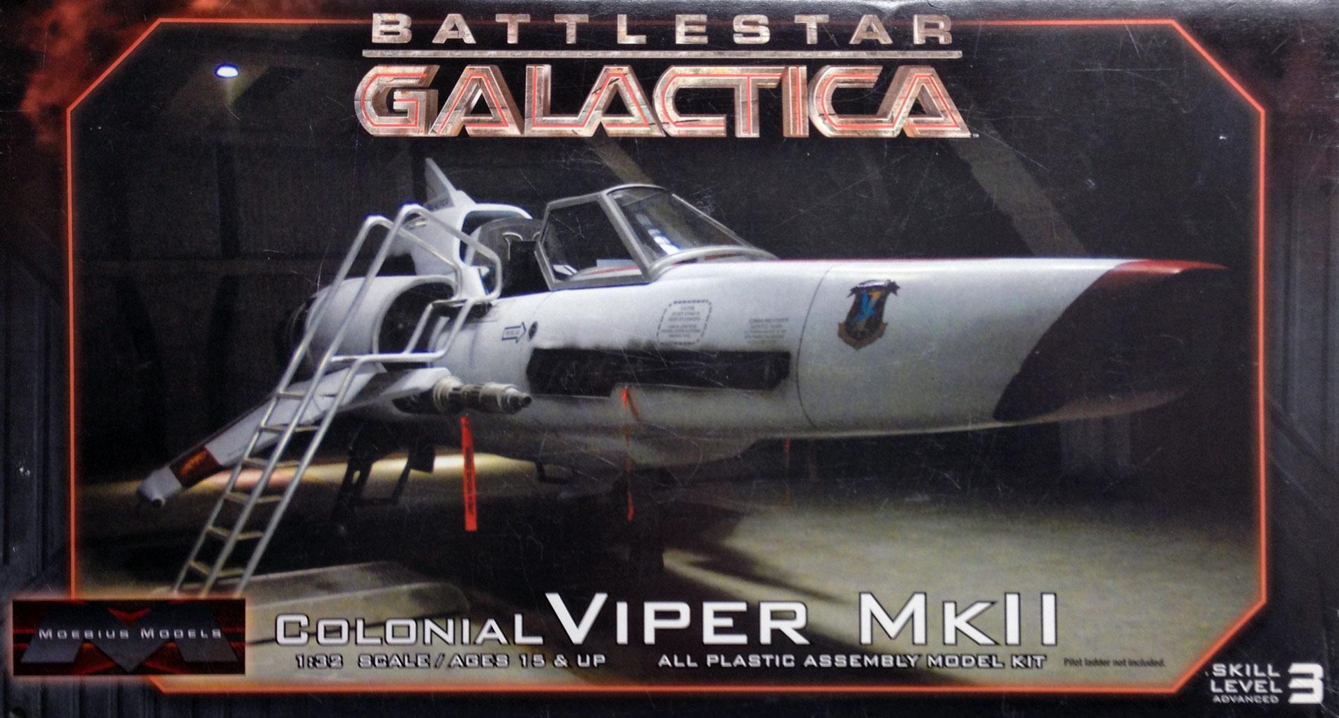 Moebius Battlestar Galactica Viper Mk II