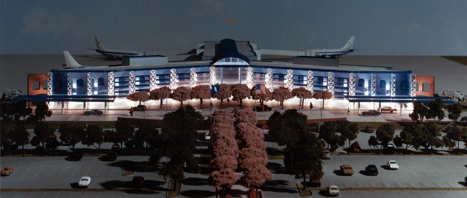 Roanoke Airport Model